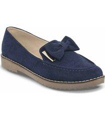 mocasines ashlen azul para mujer croydon