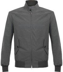 baracuta g9 modern classic steel harrington jacket