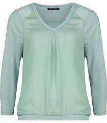 expresso shirt mintgroen