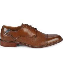 p-dorian cap toe leather derbys