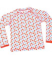 koszulka plażowo-kąpielowa z filtrem uv 50+ z długim rękawem