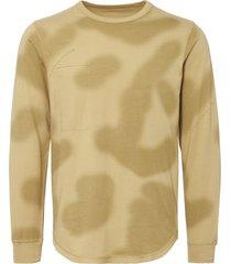 maharishi desert camo/plain reversible long sleeve t-shirt 8506