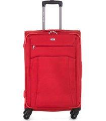 maleta de viaje textil ruedas 360 91917 escarlata 20