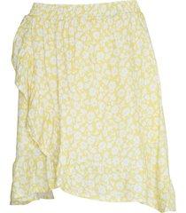 noella noella skirt april yellow/white flower
