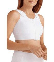 women's amoena patricia compression vest, size 50b/c - white