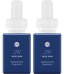 pura x capri blue 2-pack diffuser fragrance refills in blue jean at nordstrom