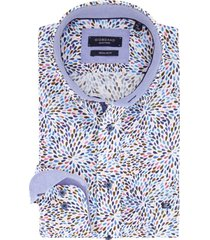 giordano overhemd multicolor motief regular fit