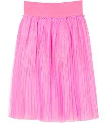 monnalisa long pink skirt