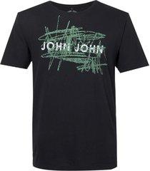 camiseta john john rx green scratch malha preto masculina (preto, gg)