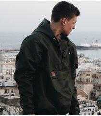 kurtka softshell khaki hoodie