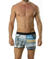zwembroek geronimo 3d surfing shorts