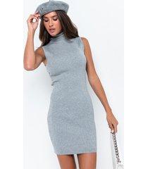 akira paxton sleeveless ribbed mini dress