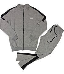 conjunto gris redskin bomber