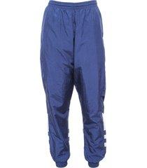 pantalón azul adidas originals bg trefoil tp