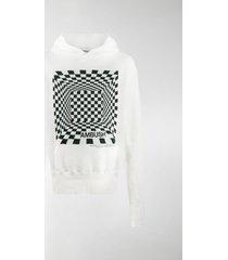 ambush illusion print hoodie