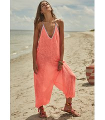 pitusa inca jumpsuit watermelon