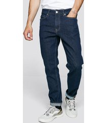 regular rigid jeans - mörkblå