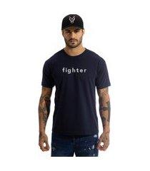 camiseta arimlap fighter azul marinho