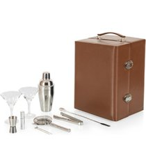legacy by picnic time manhattan cocktail case and bar set