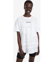 no gender camouflage t-shirt - white - s