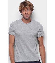 camiseta hering básica slim masculina - masculino