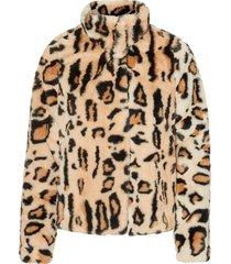 fuskpäls vmthea leo short faux fur jacket