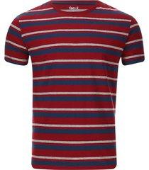 camiseta a rayas horizontales