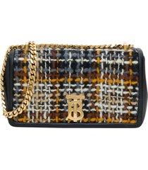 burberry lola tweed bag