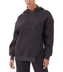 4th & reckless kiana oversize hoodie, size x-large in charcoal at nordstrom