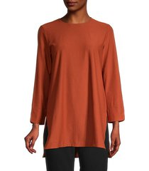 high-low tunic top