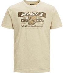 t-shirt korte mouw jack & jones camiseta jack jones bluanglo 12183776