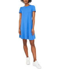 riley & rae puff-sleeve dress, created for macy's