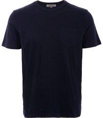 ymc wild ones pocket t-shirt - navy p6lad