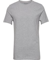 crew-neck t-shirt t-shirts short-sleeved grå bread & boxers
