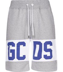 gcds logo print drawstring shorts