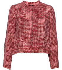 blazer short kissing jacket 1/ blazer kavaj röd betty barclay