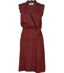 dress jurk knielengte rood rosemunde