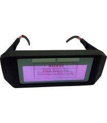 gafas de soldadura fotoeléctrico variable automática soldadura soldado