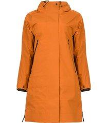 parka met uitneembare binnenjas liner  oranje