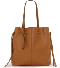 lucky brand women's dewi leather tote handbag