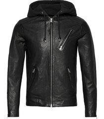 harwood jacket läderjacka skinnjacka svart allsaints