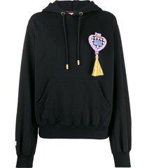 gcds polly pocket hoodie - black