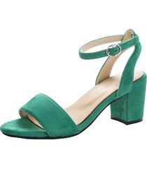 sandaletter klingel grön