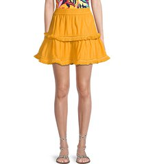 morena short cover-up skirt