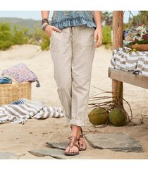 sea breeze linen pants