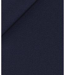 pantaloni da uomo su misura, loro piana, blu twill, quattro stagioni   lanieri