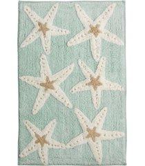 """avanti bath, sequin shells 20"""" x 30"""" bath rug bedding"""