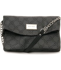 bolso gris oscuro nine west coralia mini