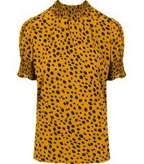 cheetah col top oker