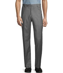 houndstooth flannel dress pants